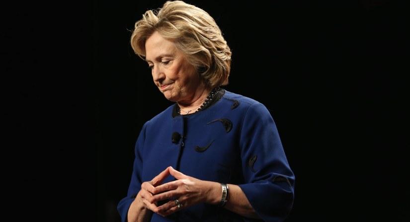 WATER STILL WET: Hillary Clinton Book TourEdition
